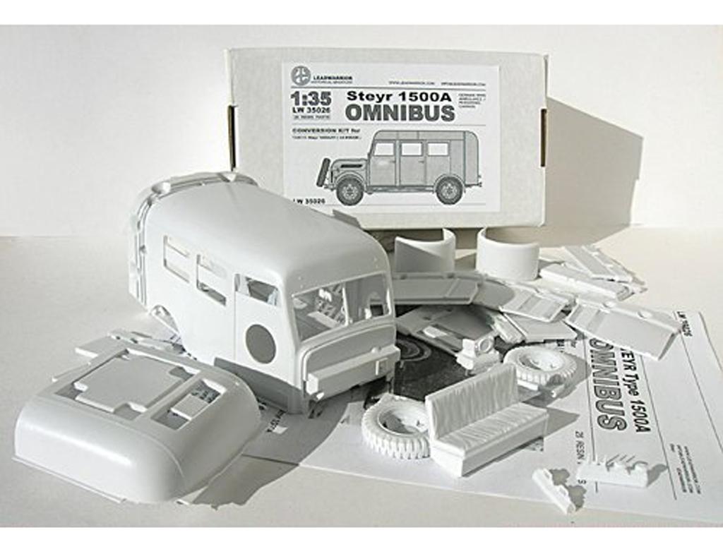 Steyr Type 1500A Ambulance  (Vista 1)