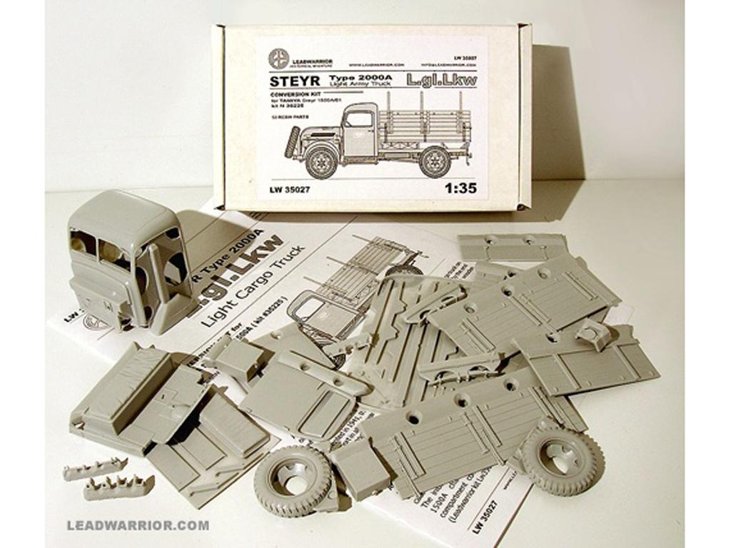 Steyr 2000A Camion Ligero  (Vista 1)