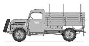 Steyr 2000A Camion Ligero  (Vista 6)