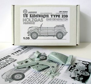 VW Kubelwagen Typ 239 Holzgas Gas-Genera  (Vista 4)