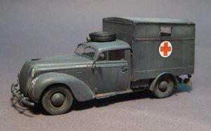 Opel Admiral Ambulance  (Vista 4)