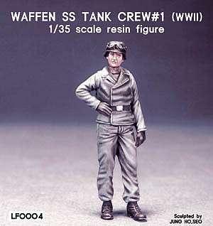 Comandante Tanque Aleman SS  (Vista 1)