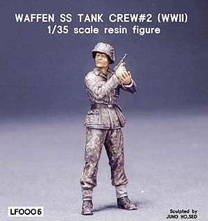 Waffen SS Tank crew 2 WWII  (Vista 1)