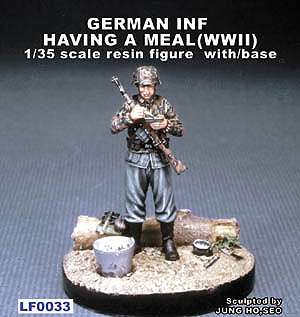 German Inf Having a meal WWII  (Vista 1)