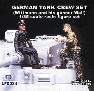 German Tank Crew set Wittmann and his gu  (Vista 1)