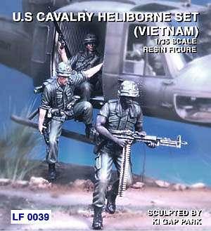 US Cavalry Heliborne set Vietnam  (Vista 1)