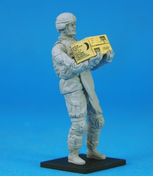 US OIF Soldier at rest - Ref.: LEGE-LF0117
