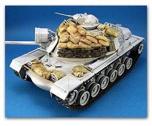 M48A3 Vietnam Sand bag armor set  (Vista 1)