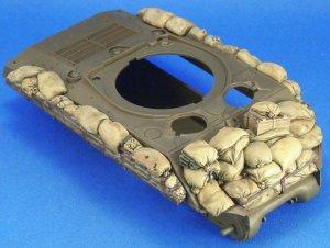 Sherman M4A3 sandbag Armor set  (Vista 1)