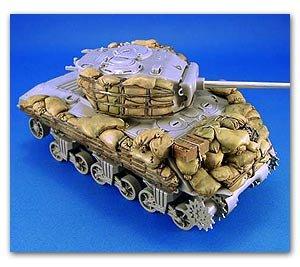 Sherman M4A3 sandbag Armor set #2  (Vista 1)