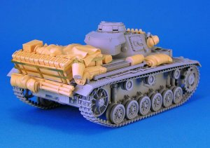 German Pz.Kpfw.III Stowage set  (Vista 3)