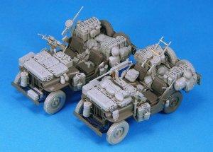 SAS Jeep Conversion set for 2 Vehicles  - Ref.: LEGE-LF1233