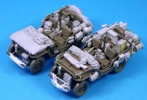 Willys MB Stowage set for 2 vehicle  (Vista 1)
