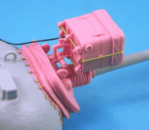 Mantlet & AN/VSS-1 Searchlight set  (Vista 3)