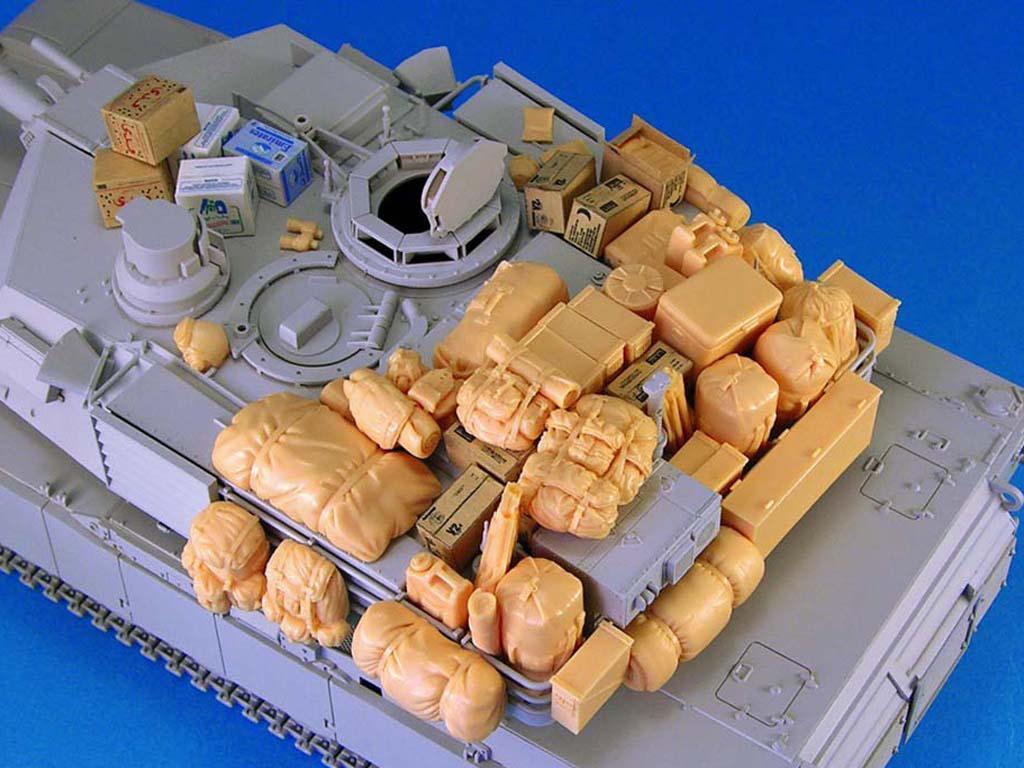 M1 Abrams Stowage set (Vista 1)