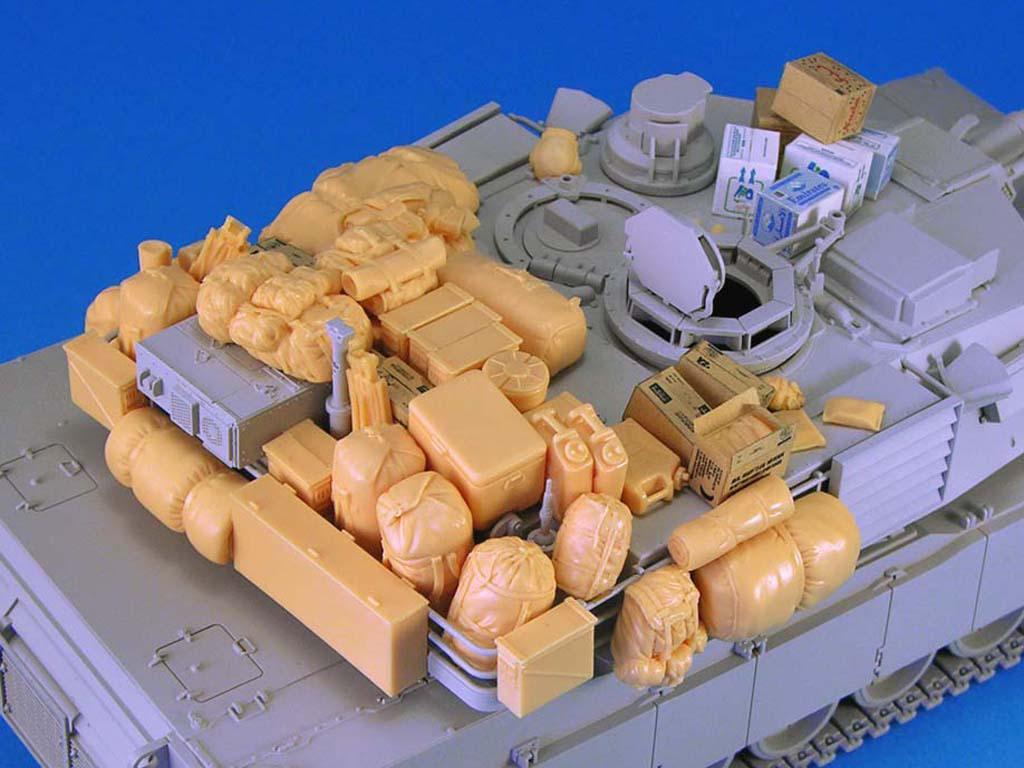 M1 Abrams Stowage set (Vista 3)