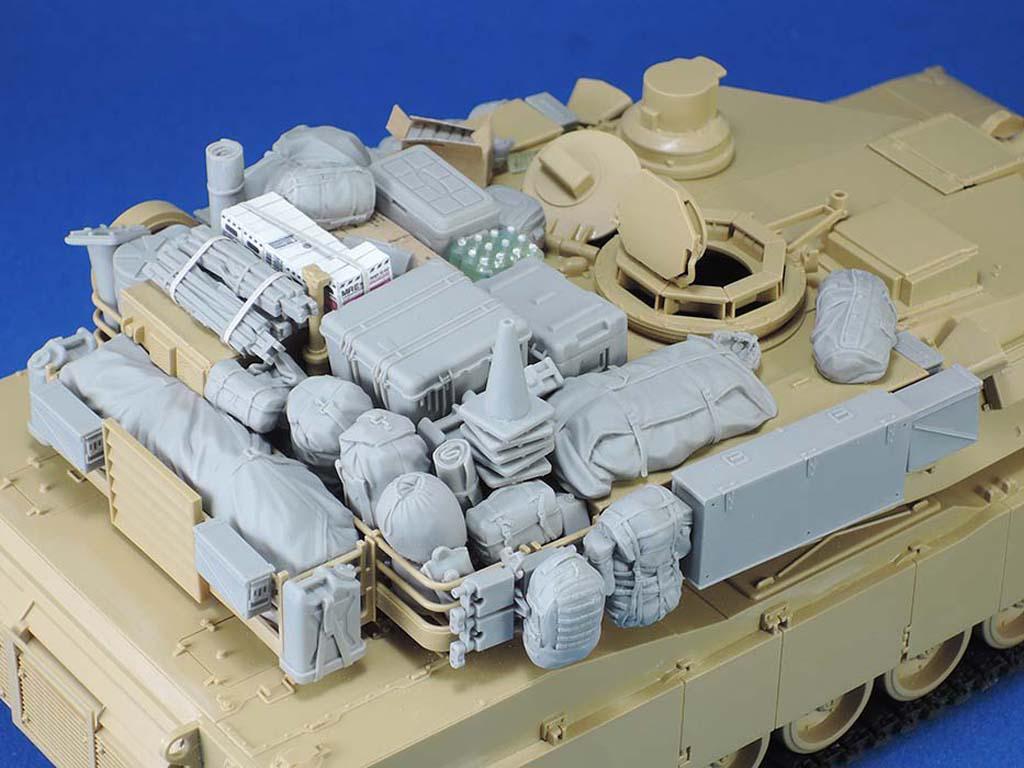M1A1/A2 Tank Stowage set III (Vista 3)