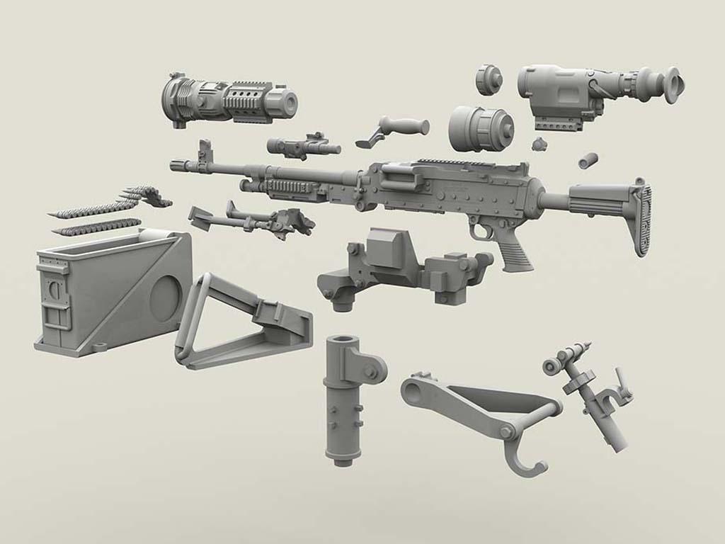 M240 Swing Arm Var.2 set (Vista 2)