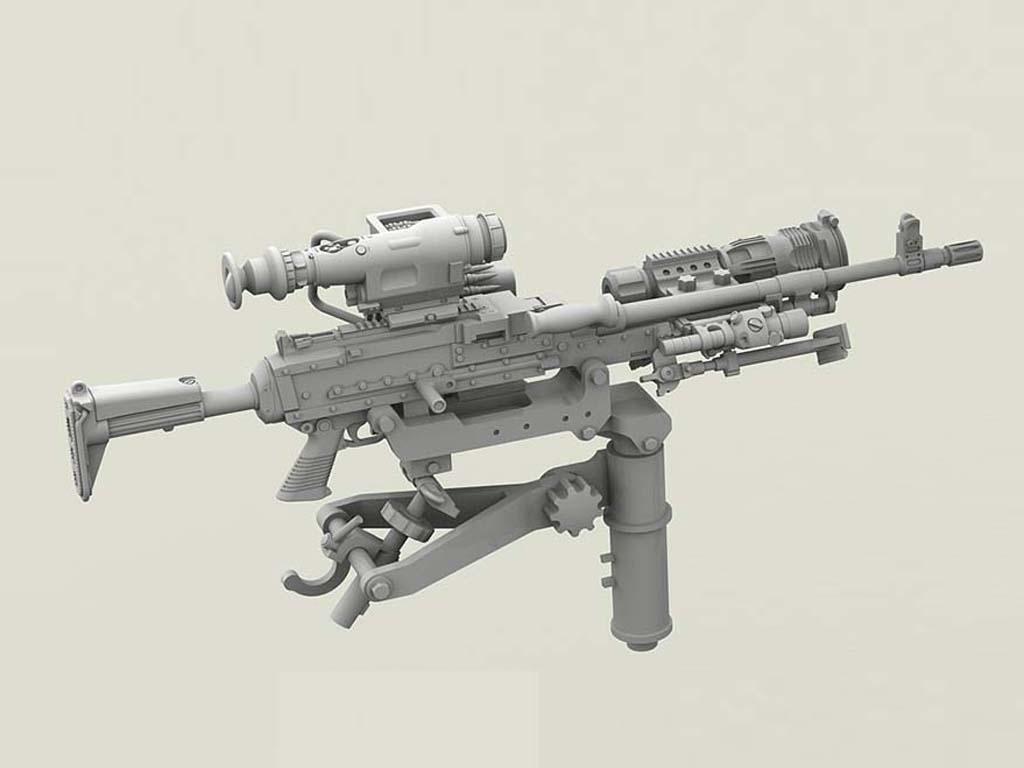 M240 Swing Arm Var.2 set (Vista 3)