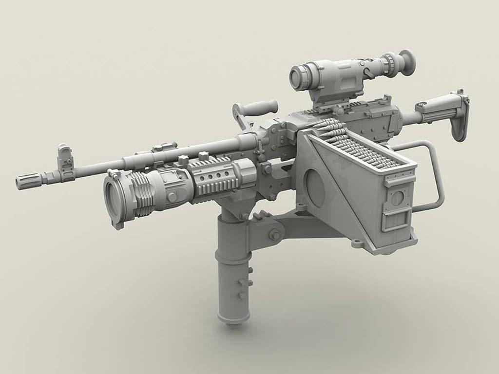 M240 Swing Arm Var.2 set (Vista 4)