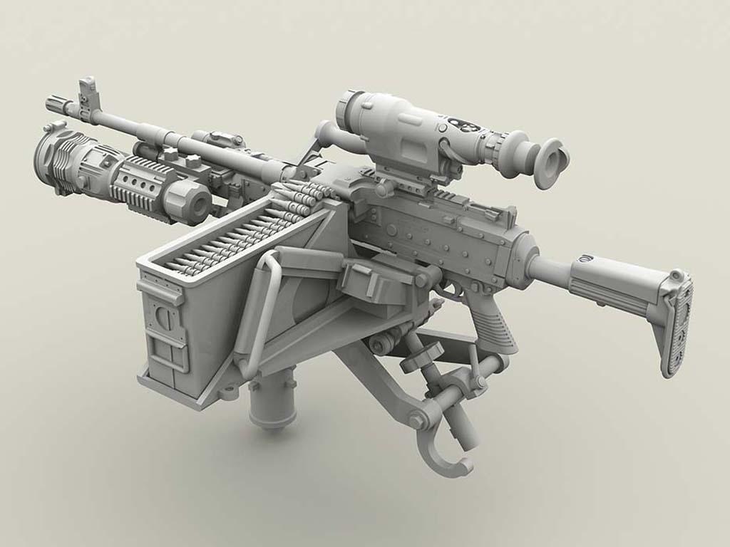 M240 Swing Arm Var.2 set (Vista 5)