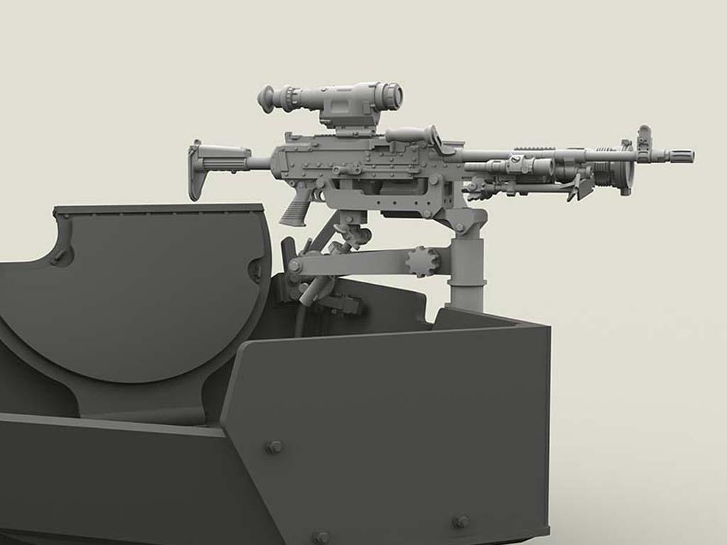 M240 Swing Arm Var.2 set (Vista 7)