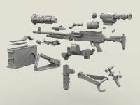 M240 Swing Arm Var.2 set (Vista 9)