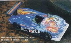 Autoexe - Mazda WR Nº 24 Le Mans 2002  (Vista 1)