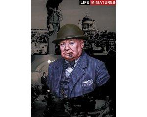 British Prime Minister Winston Churchill  (Vista 1)