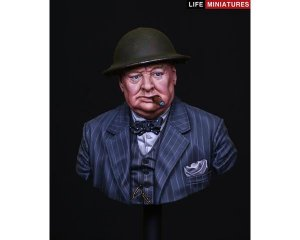 British Prime Minister Winston Churchill  (Vista 3)