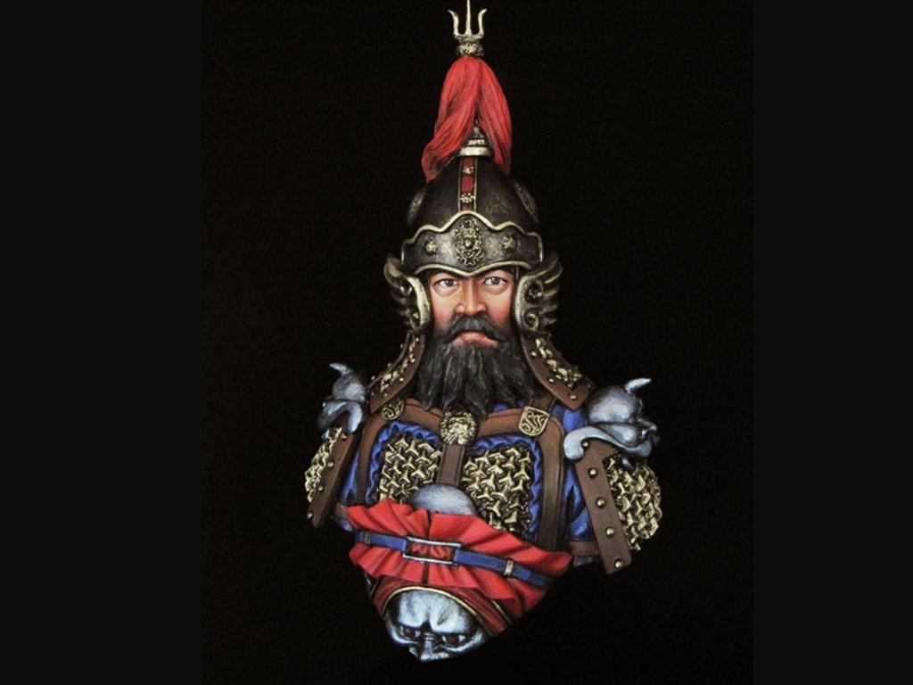 General de China Dinastía Tang  (Vista 1)
