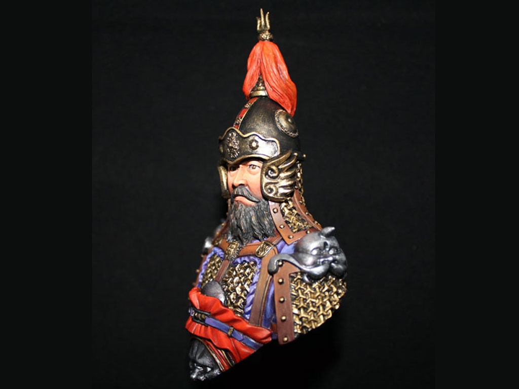 General de China Dinastía Tang  (Vista 2)