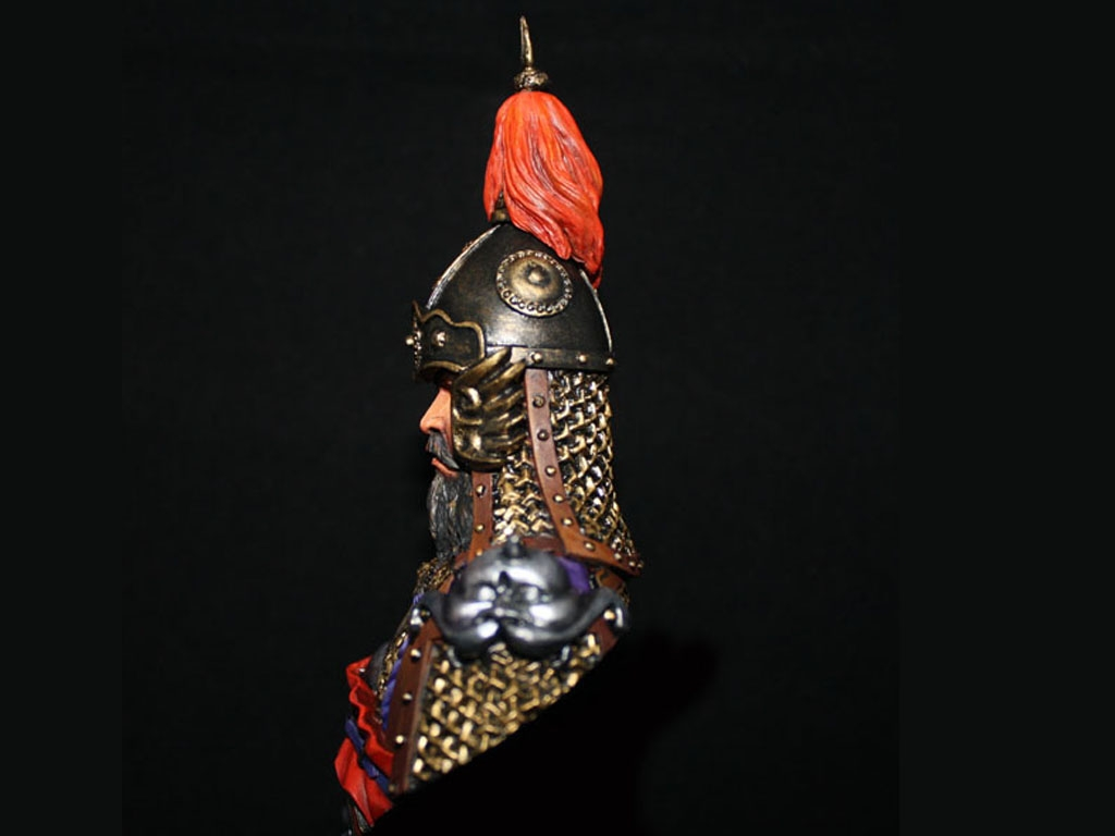 General de China Dinastía Tang  (Vista 3)
