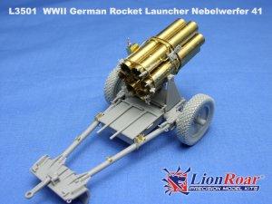 Lanzacohetes alemán 15 cm. Nebelwerfer   (Vista 1)