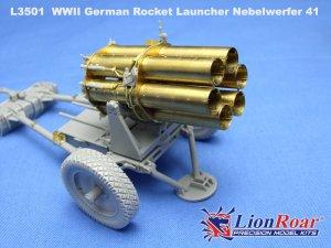 Lanzacohetes alemán 15 cm. Nebelwerfer   (Vista 2)
