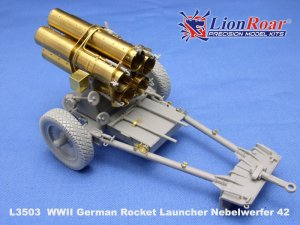 Lanzacohetes alemán 21cm. Nebelwerfer 4 - Ref.: LION-L3503