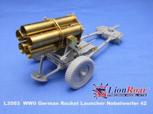 Lanzacohetes alemán 21cm. Nebelwerfer 4  (Vista 2)
