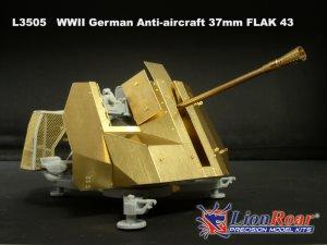 German Anti-Aircraft 37mm FLAK 43  (Vista 2)