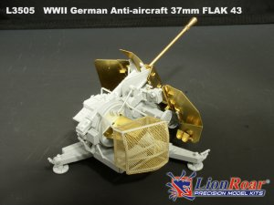 German Anti-Aircraft 37mm FLAK 43  (Vista 3)