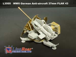 German Anti-Aircraft 37mm FLAK 43  (Vista 4)