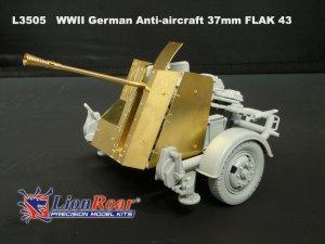 German Anti-Aircraft 37mm FLAK 43  (Vista 5)