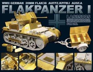 German 20mm FLAK38 FLAKPANZER I  (Vista 1)
