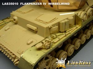 WWII German Flakpanzer IV Wirbelwind   (Vista 3)