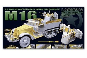M16 Anti-Aircraft Motor Gun Carriage   (Vista 1)