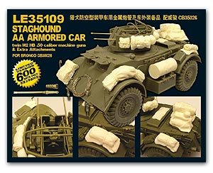 Staghound AA Armored extra attachment  (Vista 1)