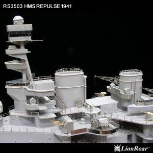 HMS Repulse 1941  (Vista 5)