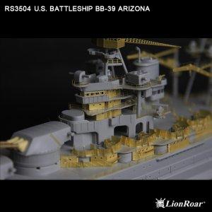 U.S. Battleship BB-39 Arizona  (Vista 4)