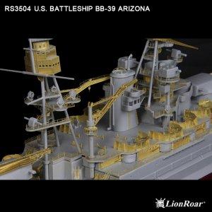 U.S. Battleship BB-39 Arizona  (Vista 6)