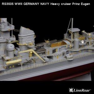 Germany Navy Heavy Cruiser Prinz Eugen  (Vista 2)