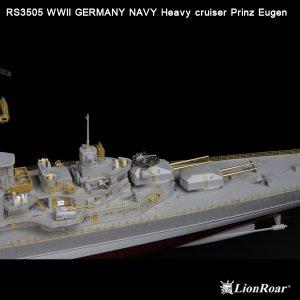 Germany Navy Heavy Cruiser Prinz Eugen  (Vista 3)